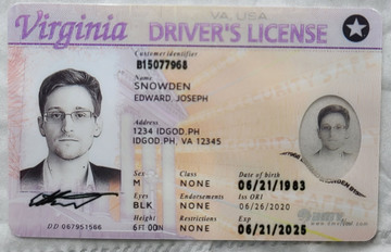 Fake Drivers License Sample
